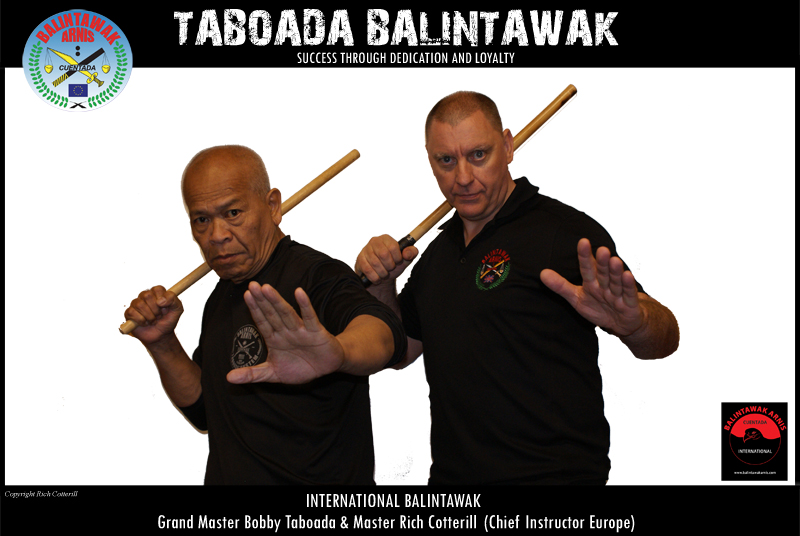Balintawak GM Taboada - Master Rich Cotterill