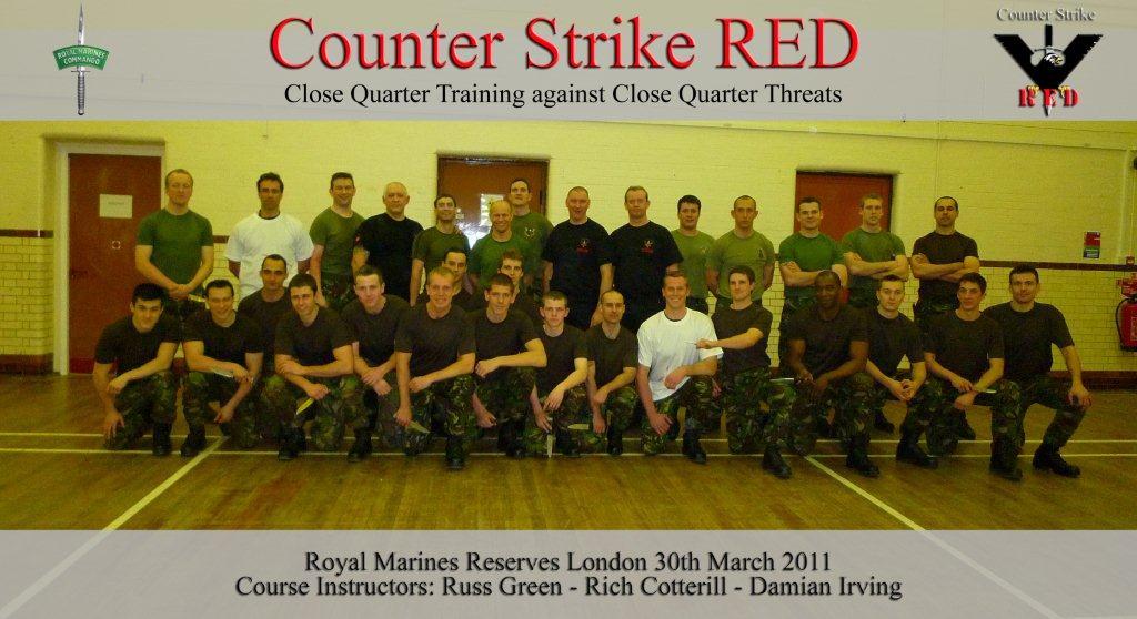 CQB Training Royal Marine Commandos CSRED International