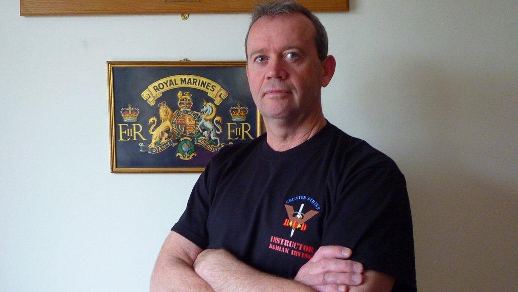 CSRED International Combat Instructor Damian Irving