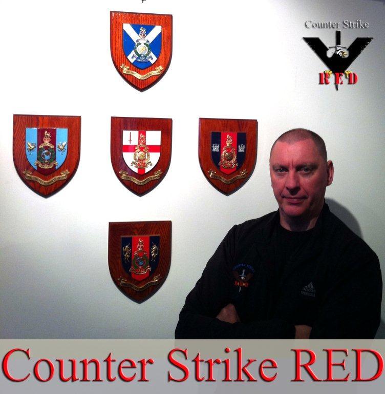 CSRED International Combat Instructor Richard Cotterill