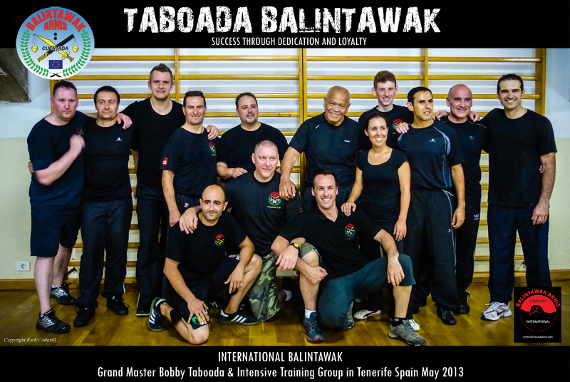 Tenerife Balintawak Europe Training Group